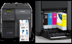 Epson ColorWorks C7510G Inkjet Color Label Printer
