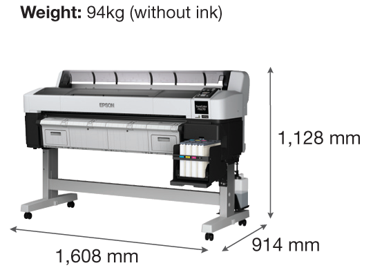 Epson SureColor SC-F6270 Dye-Sublimation Textile Printer