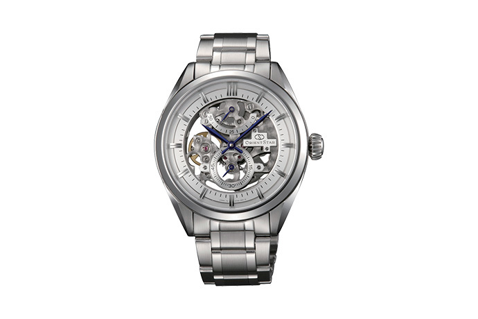 ORIENT STAR: Mechanical Classic Watch, Metal Strap - 40.0mm (DX00001W)