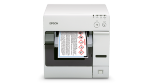 Epson ColorWorks C3400 Color Inkjet Label Printer