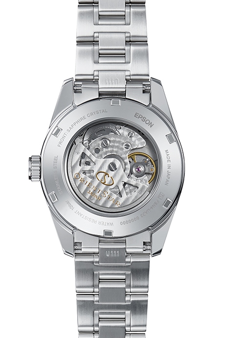 ORIENT STAR: Mechanical Contemporary Watch, Metal Strap - 38.5mm (RE-AU0004B)