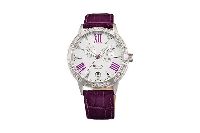 ORIENT: Mechanical Contemporary Watch, Leather Strap - 37.0mm (ET0Y004W)