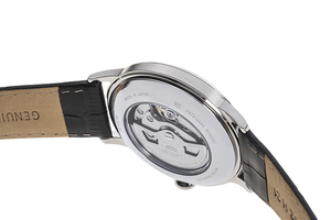 ORIENT: Mechanical Classic Watch, Leather Strap - 40.5mm (RA-AG0004B)
