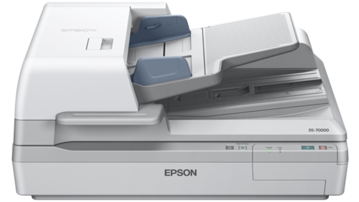 Scanner Colorido de Documentos Epson WorkForce DS-70000
