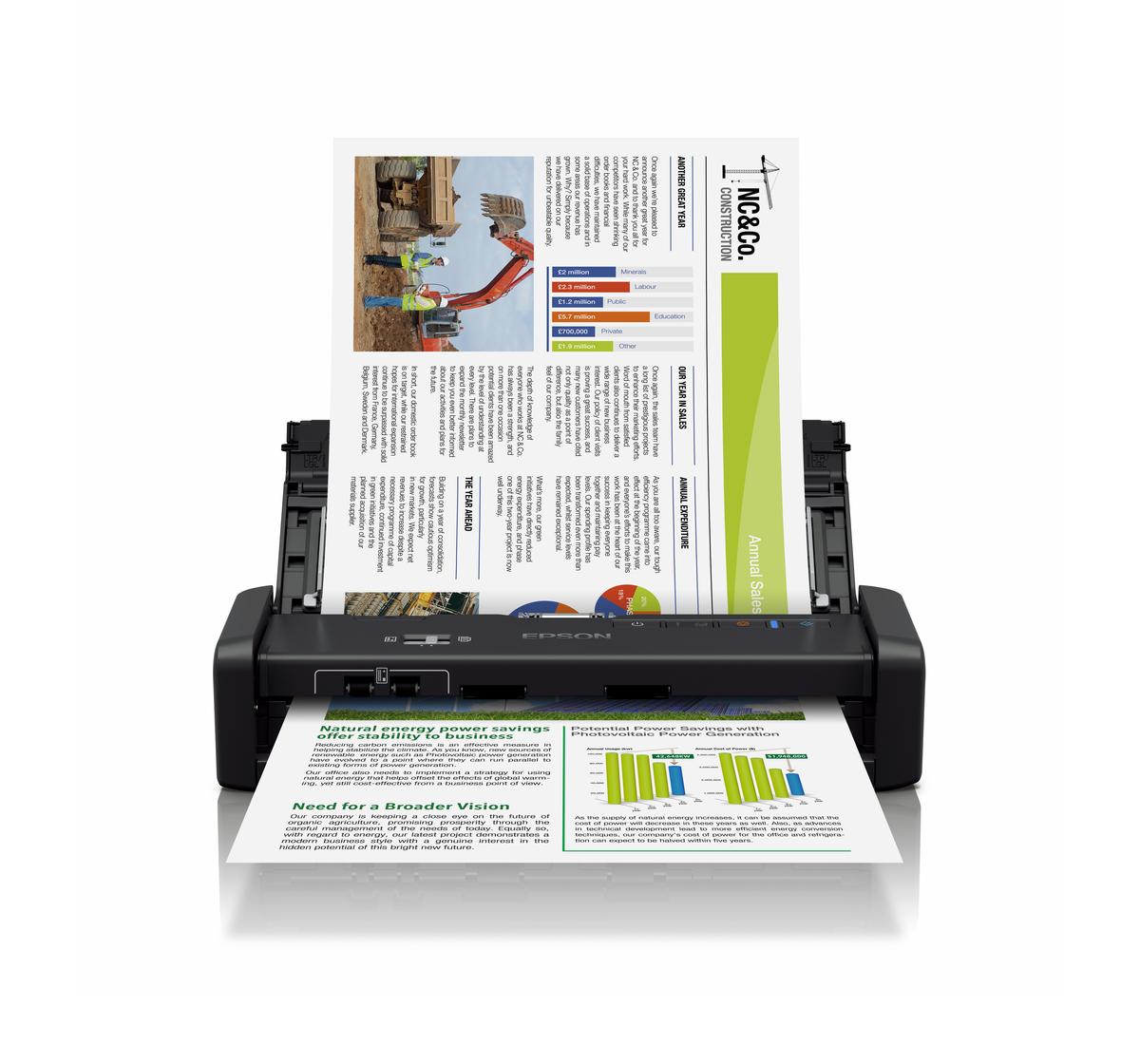 Epson workforce ds 360w wi fi portable sheet fed document scanner epson workforce ds 360w wi fi portable sheet fed document scanner reheart Image collections