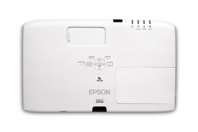 PowerLite D6155W WXGA 3LCD Projector