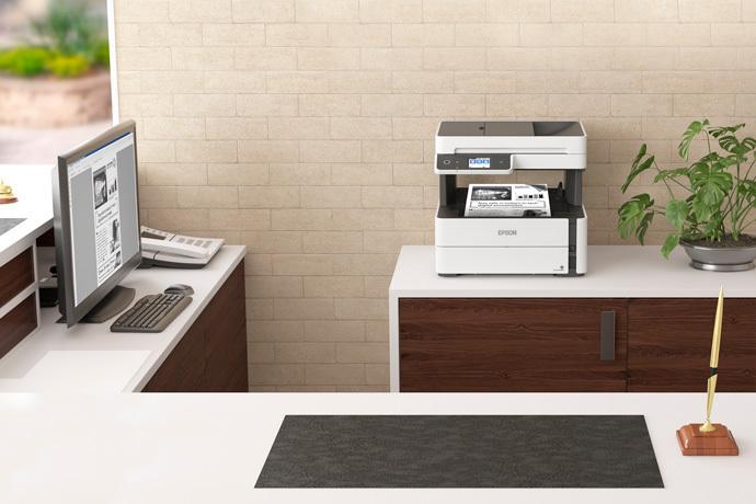 Impressora Multifuncional Monocromática EcoTank M3170