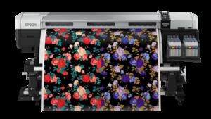 Epson SureColor SC-F9270 64 inch Dual Printhead Dye-Sublimation Garment Textile Production Large Format Printer