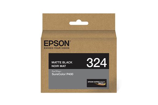 Epson 324, Matte Black Ink Cartridge