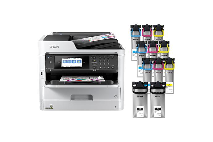 WorkForce Pro WF-C5790 Colour MFP Supertank Printer