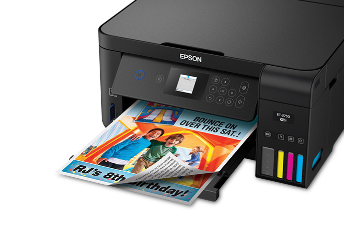 Expression ET-2750 EcoTank All-in-One Supertank Printer | Inkjet