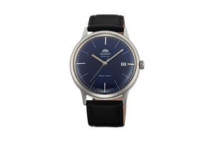 ORIENT: Mechanical Classic Watch, Leather Strap - 40.5mm (AC0000DD)