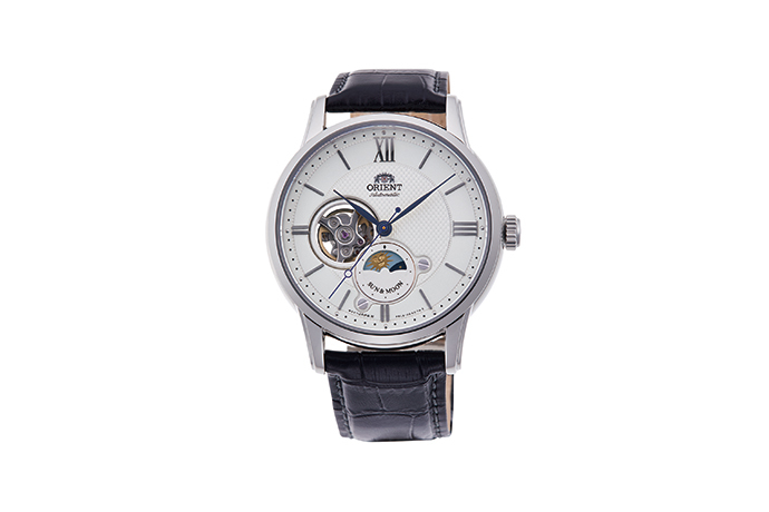 ORIENT: Mechanical Classic Watch, Leather Strap - 42.0mm (RA-AS0005S)