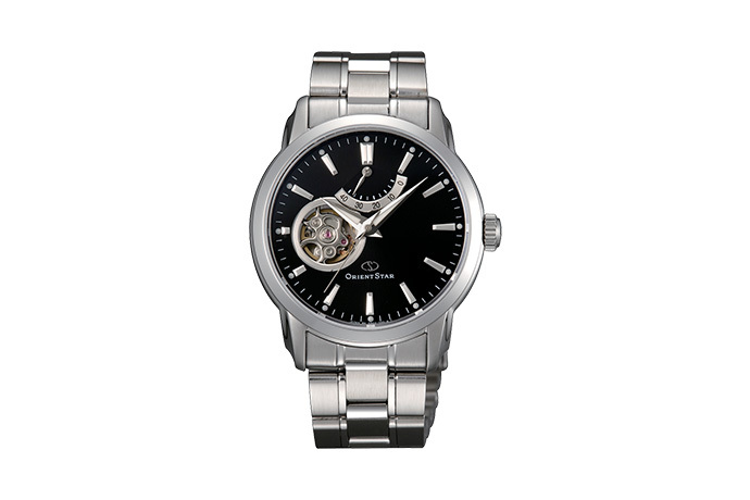 ORIENT STAR: Mechanical Contemporary Watch, Metal Strap - 39.0mm (DA02002B)
