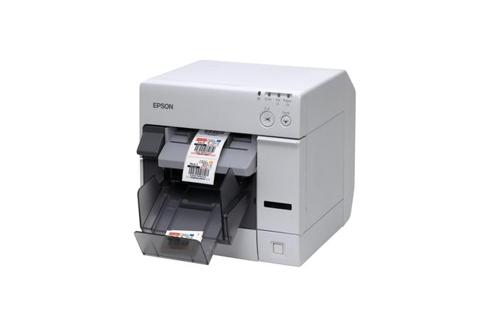 colorworks / securcolor c3400 inkjet label printer   label