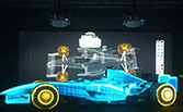 Epson Southeast Asia: Projection mapping on a Formula One Car