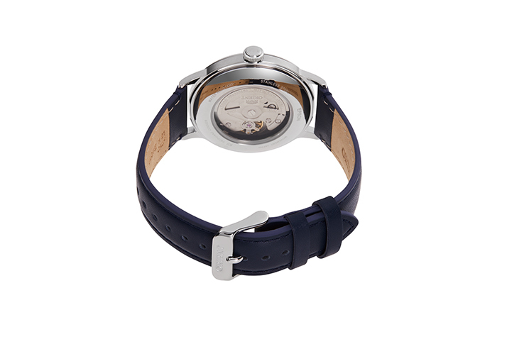 ORIENT: Mechanical Classic Watch, Leather Strap - 40.5mm (RA-AC0021L)