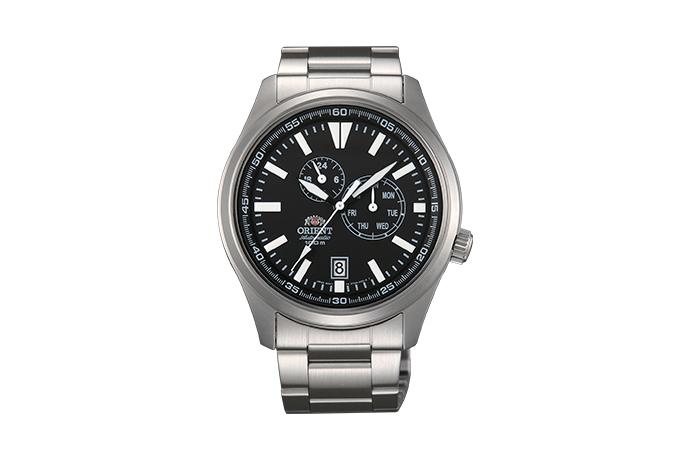 ORIENT: Mechanisch Sport Uhr, Metall Band - 42.0mm (ET0N001B)