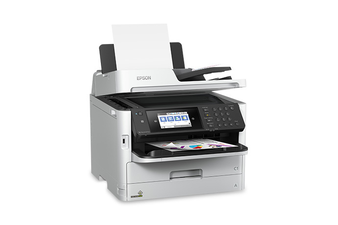WorkForce Pro WF-C5710 Network Multifunction Colour Printer with Replaceable Ink Pack System