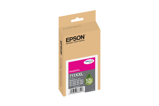 Epson 711XXL, Magenta Ink Cartridge, Extra High Capacity