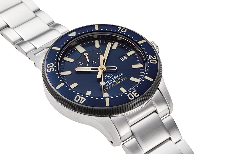 ORIENT STAR: Mechanical Sports Watch, Metal & Silicon Strap - 43.6mm (RE-AU0304L)