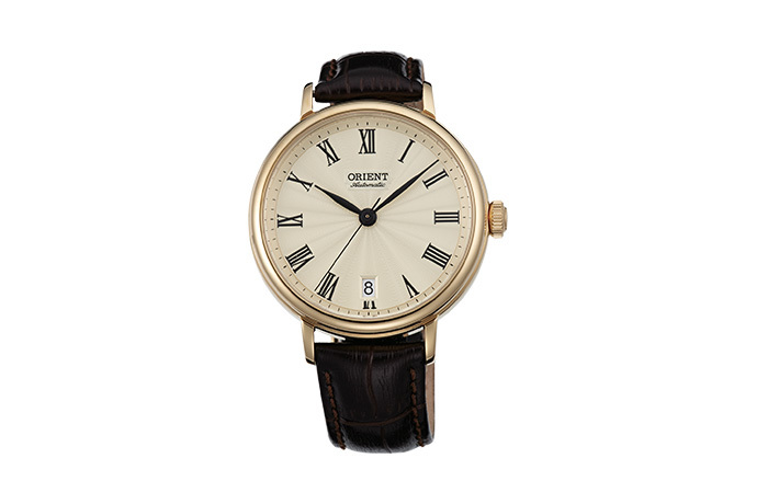 ORIENT: Mechanical Classic Watch, Leather Strap - 37.5mm (ER2K003C)