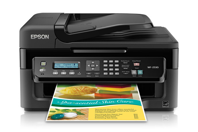 Epson Workforce Wf 2530 All In One Printer Driver