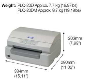 Epson PLQ-20D Passbook Printer