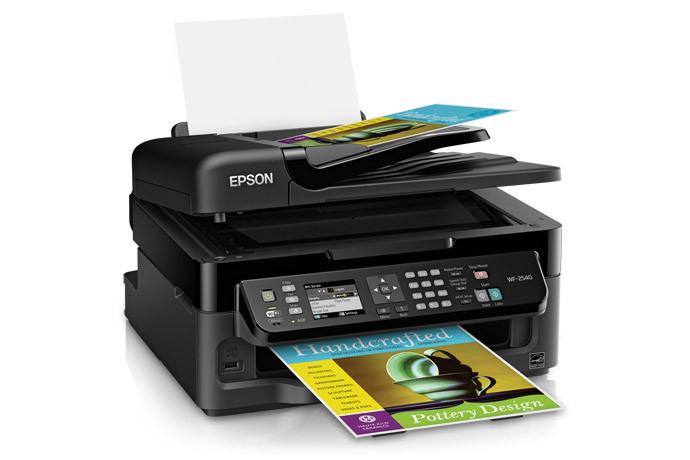 Epson WF-2540 Printer Setup