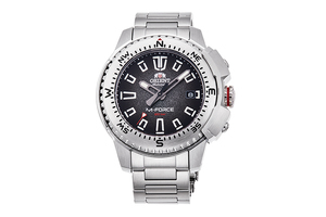 ORIENT: Mechanical Sports Watch, Metal Strap - 45.0mm  (RA-AC0N01B)