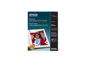 """Premium Photo Paper Semi-gloss, 8.5"""" x 11"""", 20 sheets"""