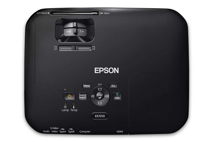 ex7210 wxga 3lcd projector projectors for work clearance center rh epson com Epson EX7210 Projector Bulb Epson EX7210 WXGA