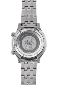 ORIENT: Mechanical Revival Watch, Metal Strap - 43.8mm (RA-AA0D01B)