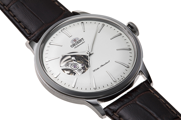 ORIENT: Mechanical Classic Watch, Leather Strap - 40.5mm (RA-AG00002S)