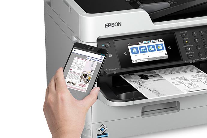 WorkForce Pro WF-M5799 Workgroup Monochrome Multifunction Printer