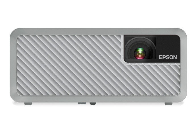 Epson EF-100 Mini-Laser Streaming Projector with Android TV - White