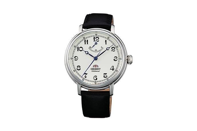Orient: Mecánico Clásico Reloj, Cuero Correa - 40.0mm (DD03003Y)