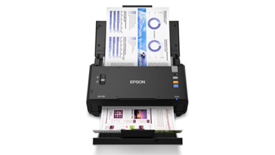 Scanner Colorido de Documentos Epson WorkForce DS-510
