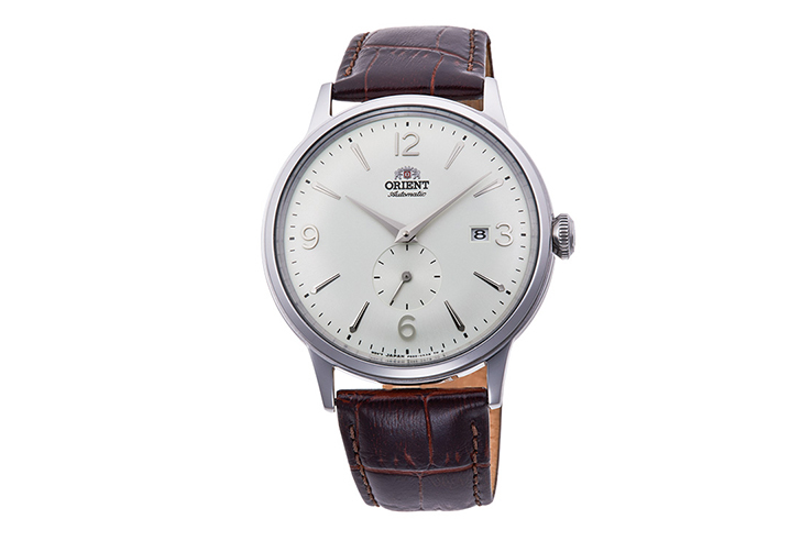 ORIENT: Mechanical Classic Watch, Leather Strap - 40.5mm (RA-AP0002S)