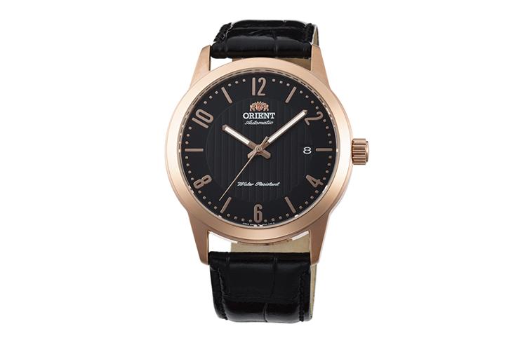 ORIENT: Mechanisch Modern Uhr, Leder Band - 41.0mm (AC05005B)