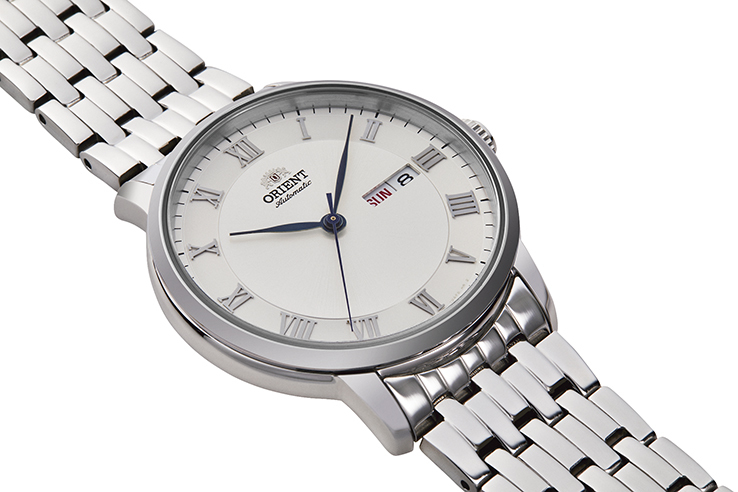ORIENT: Mechanical Contemporary Watch, Metal Strap - 39.5mm (RA-AA0A04S)