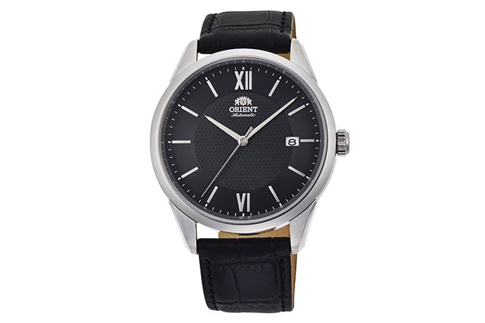 ORIENT: Mechanical Contemporary Watch, Leather Strap - 40.8mm (RA-AC0016B)