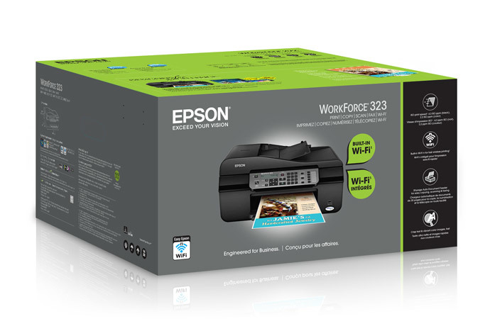 Epson WorkForce 323 All-in-One Printer