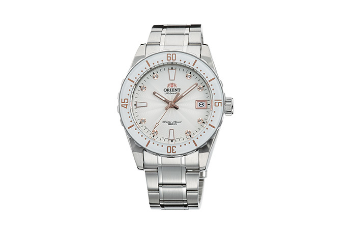 ORIENT: Mechanical Sporty Watch, Metal Strap - 39.0mm (AC0A002W)
