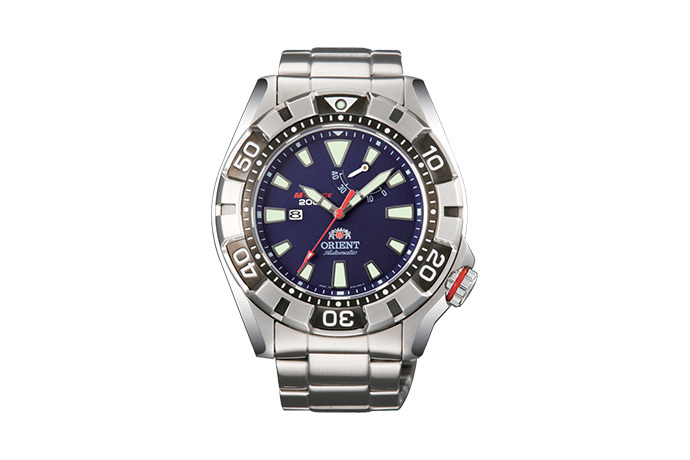 ORIENT: Mechanical Sports Watch, Metal Strap - 46.0mm (EL03001D)