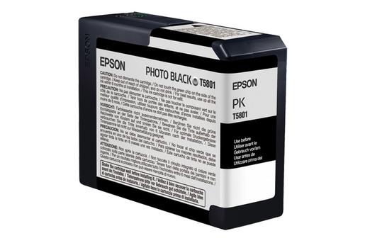 Epson T580, 80 ml Photo Black UltraChrome K3 Ink Cartridge