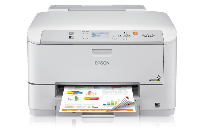 epson workforce pro wf-5190 network colour printer with pcl/adobe