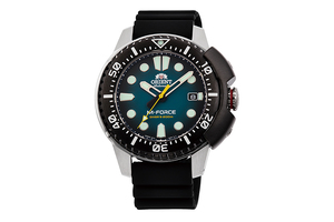 ORIENT: Mechanical Sports Watch, Silicon Strap - 45.0mm  (RA-AC0L04L)