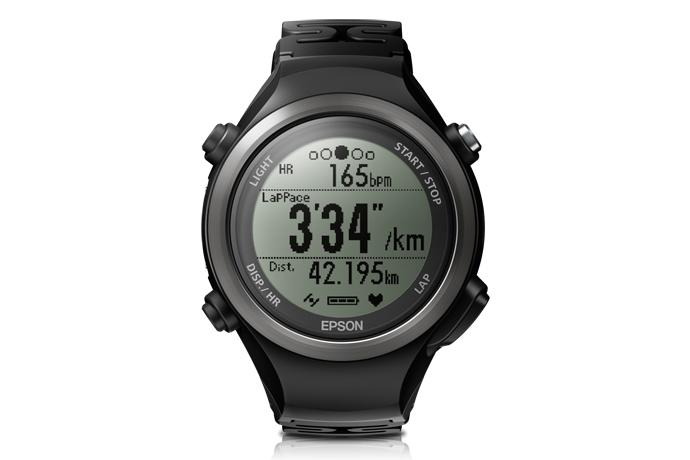 Runsense SF-810B GPS Watch - Black