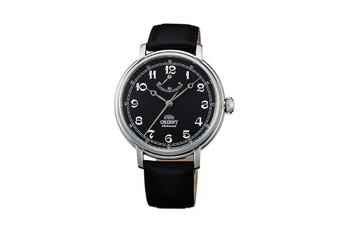 ORIENT: Mechanical Classic Watch, Leather Strap - 40.0mm (DD03002B)
